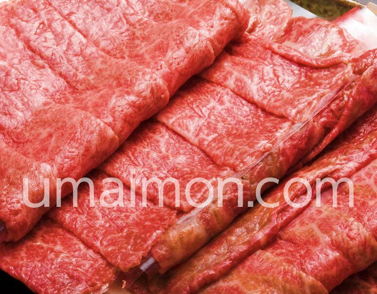 飛騨牛4等級以上 もも肉しゃぶしゃぶ用通販