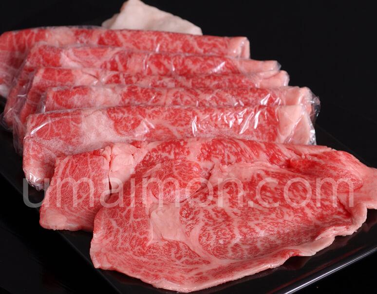 飛騨牛4等級 リブロース・すき焼き用(約300g)