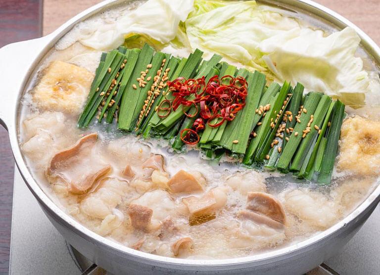 松阪牛モツ鍋