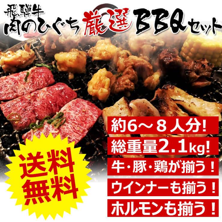 飛騨牛肉詰め合わせbbq